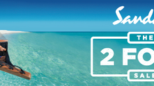 The Sandals and Beaches 2 For 1 Sale is Back!