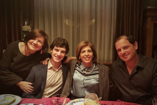 With my son Charles, former PACE President Stella Kyriakides and my husband Spyros