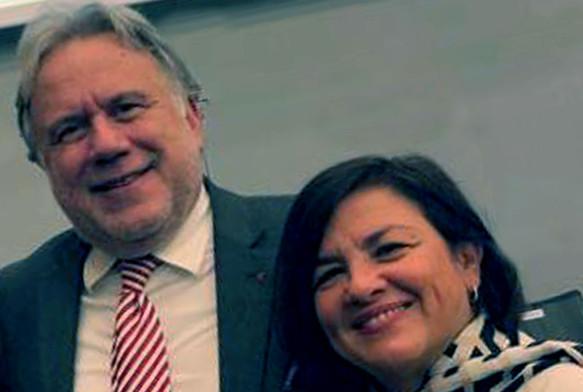 Με τον Γιώργο Κατρούγκαλο (Ελλάδα) στα κεντρικά γραφεία του ΟΟΣΑ, στο Παρίσι, τον Οκτώβριο του 2019.