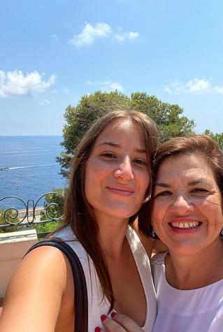 Avec ma fille Ilia, juillet 2020