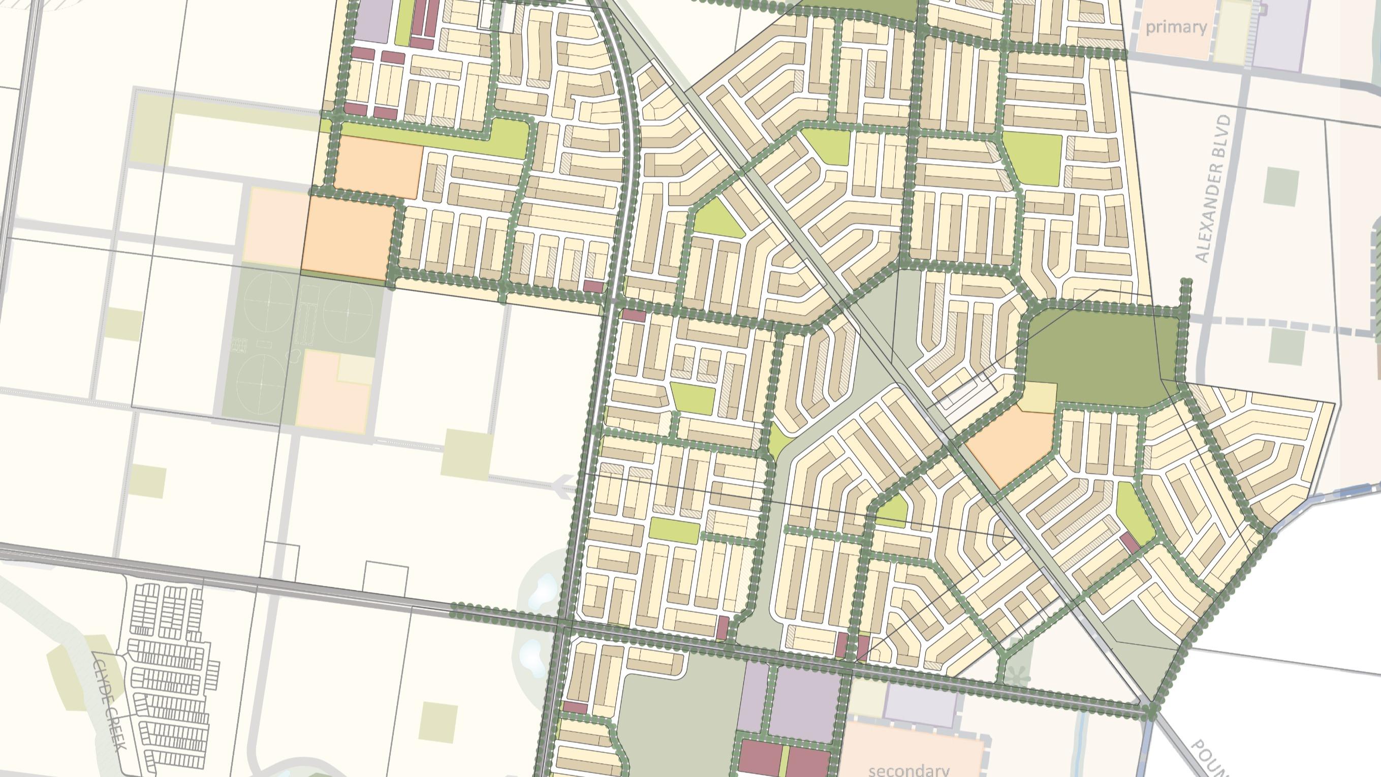 Greenfield Masterplan