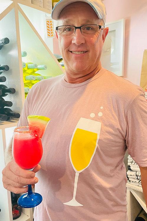 Mauve Sarabeth's Mimosa T-Shirt