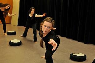 Terrel Presence Training, Taylor Keenan, Emily Osborne