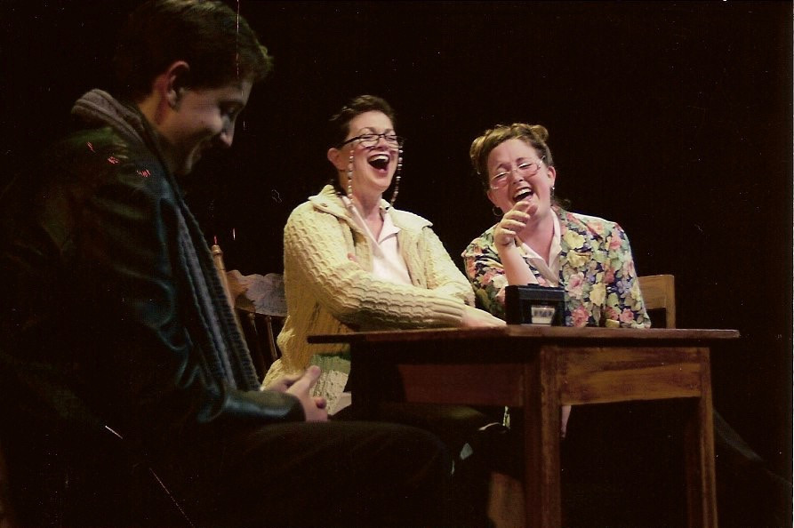 Zach Diestler, Elizabeth Terrel, Kellie Ruttle The Laramie Project directed by CJ Kieth, 2000