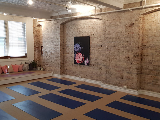 Space for yoga, relaxation and much much more
