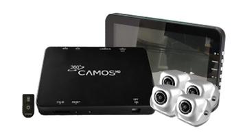 360 Digital HD camera system for excavators and all plant/machines SKANSKA compliant