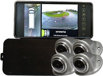 Omni-Van 360 degree vehicle surround view camera system