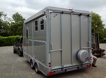 Horse Trailer wireless camera system