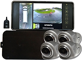 omni-van 360 degree surround view camera system