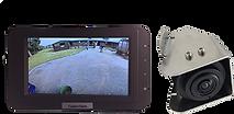 vehicle camera system, 1 camera, 2 views