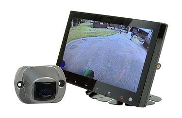 HGV camera system including reversing camera