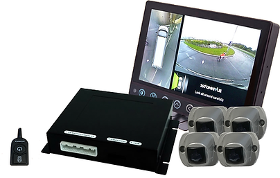 Omni-Vue™ 360 degree surround view camera system for all vehicles