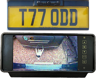 Digi-Lite Deluxe digital wireless camera system for caravans