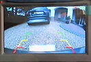 Solar powered reversing camera for cars and vans and caravans