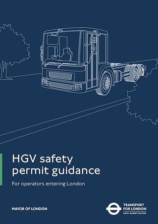 DVS Compliant Camera Systems HGV Safety Permit