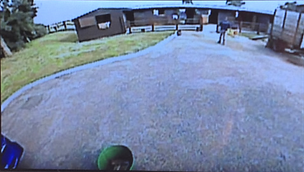 Vehicle camera system including reversing camera