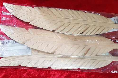 Wooden Smudge Feather