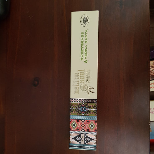 White sage and Sweetgrass incense 15g