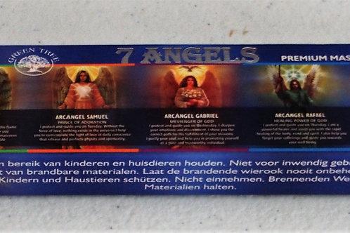 7 Angels incense 15g