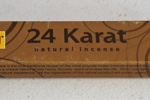 24 Karat incense 15g