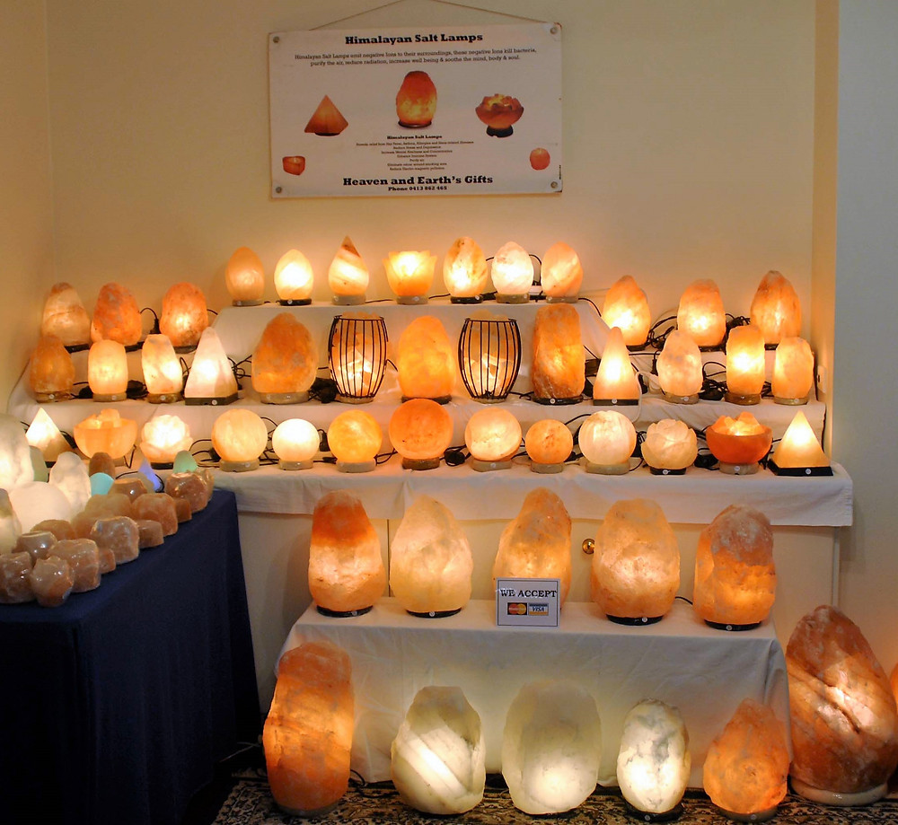 Salt Lamps by Heaven and Earth.