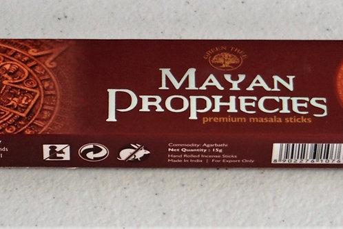 Mayan Prohecy incense 15g