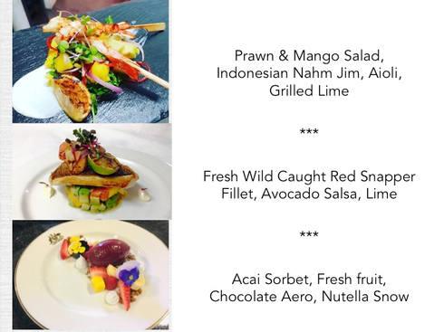 3 Course Seafood