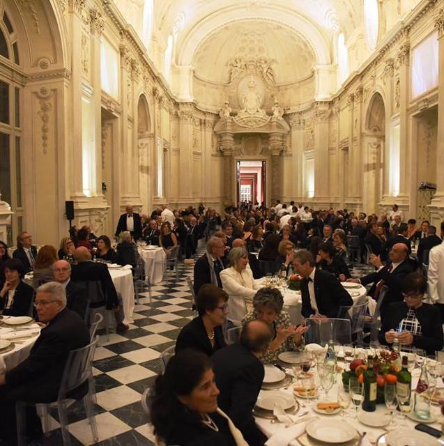Allestimento GLSAdvice Convention 70 anni CUS Torino_Reggia di Venaria-Sala di Diana