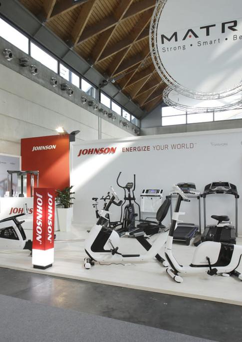 GLSAdvice_ progettazioe e allestimento Stand Johnson Rimini Wellness