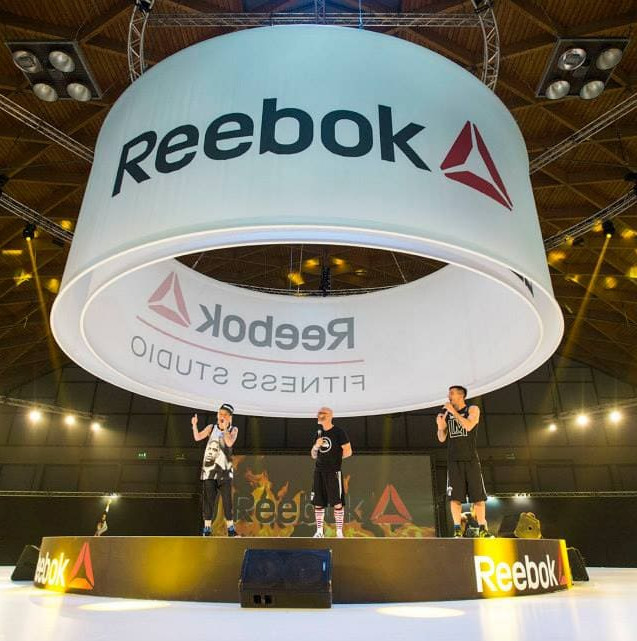 Reebok_riminiwellness_fashion show_ Progetto e Allestimento GLSAdvice