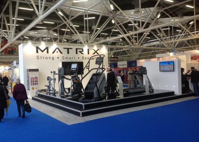 Allestimento GLSAdvice Stand Personalizzato 100 mq Matrix_Bologna