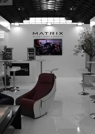 GLSAdvice Progetto e Allestimento Presentazione sedia massaggiante Matrix Rimini Wellness