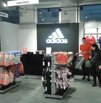 GLSAdvice Allestimento Store Adidas Scalo Milano