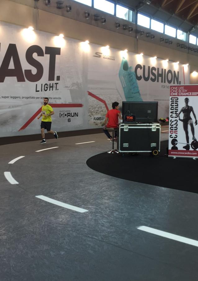 GLSAdvice_ Progettazione, allestimento Stand Skechers Rimini Wellness