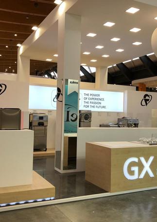 Allestimento GLSAdvice Stand Personalizzato 200 mq Frigomat Gelatissimo Stoccarda
