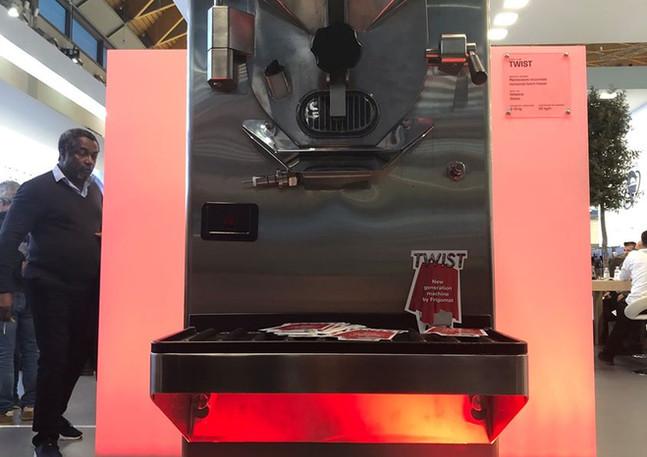 GLSAdvice_Organizzazione e Allestimento presentazione nuova macchina Twister Frigomat_Rimini