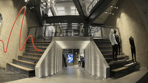 GLSAdvice_Allestimento Flagship Store Adidas