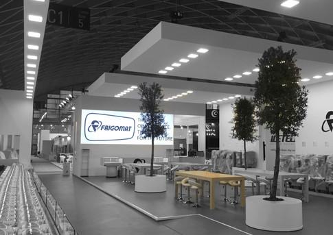 Allestimento GLSAdvice Stand Personalizzato 400 mq Frigomat_SIGEP Rimini