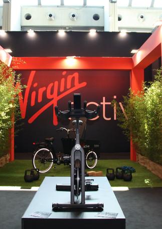 Stand Virgin 2019_Rimini Wellness_Progetto e allestimento GLSAdvice