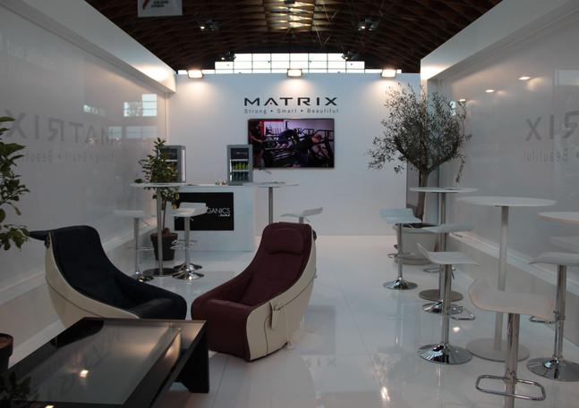 Allestimento GLSAdvice STand Personalizzato 800 mq Matrix_Rimini