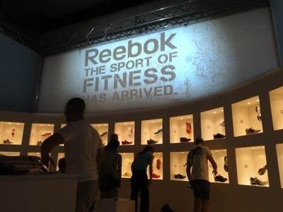 GLSAdvice_ progettazioe e allestimento Stand Reebok Rimini Wellness