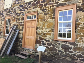 Stone House Windows Update