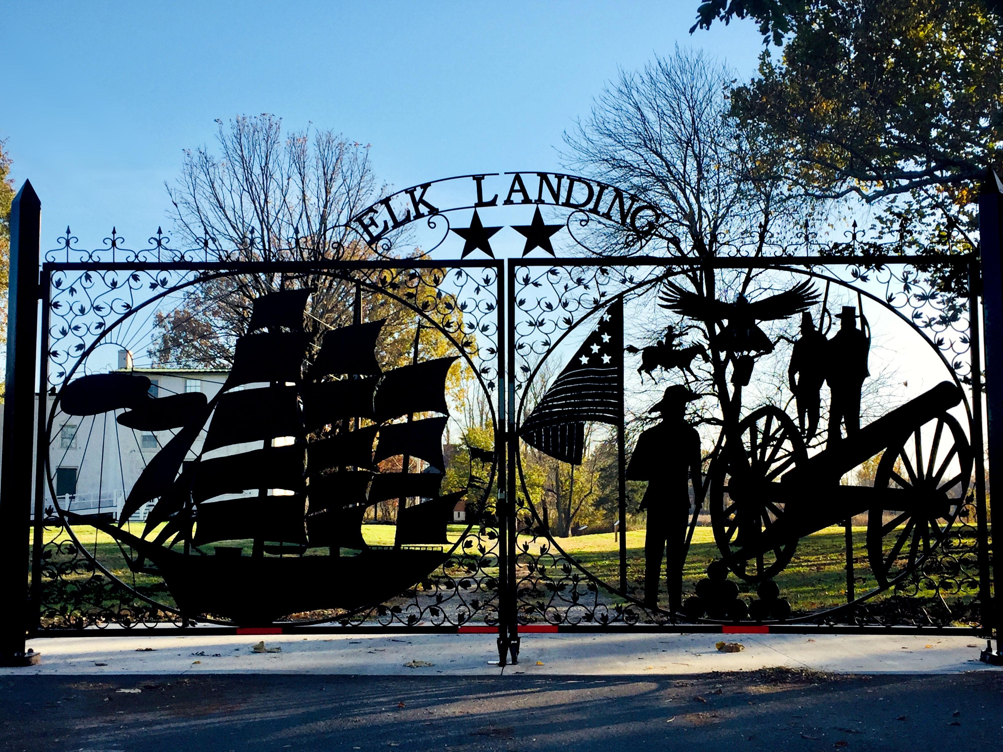 Welcome to Historic Elk Landing!