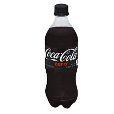 Coke Zero - 20 oz Bottle