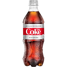 Diet Coke - 20 oz Bottle