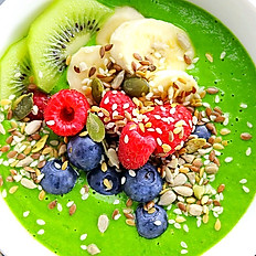 Mean Green Smoothie Bowl