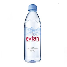 Evian Water Bottle - Large Size