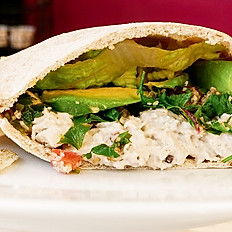 Park Avenue Pita with Tuna Salad