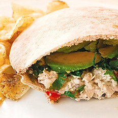 Park Avenue Pita with Chicken Salad