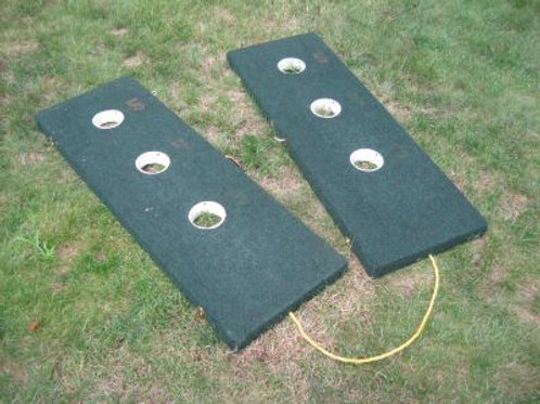 Three Hole Washer Pits